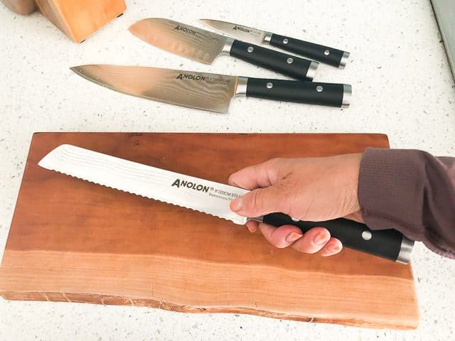 Anolon Imperion Damascus Knife Block Set Review