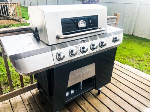 Cuisinart 3-in-1 Stainless Gas Grill Review assembled