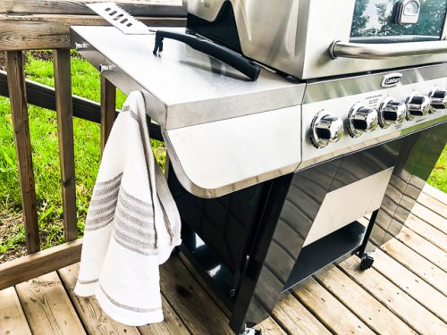Cuisinart 3-in-1 Stainless Gas Grill Review hanging knobs