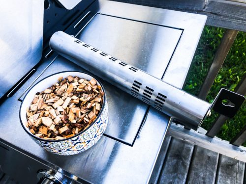 Cuisinart 3-in-1 Stainless Gas Grill Review smoker tube