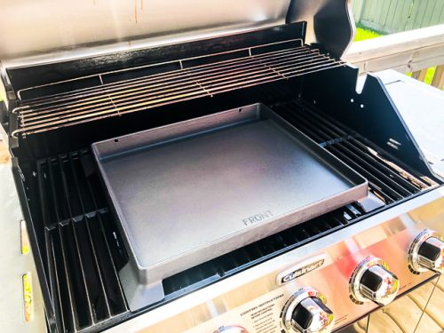 Cuisinart 3-in-1 Stainless Gas Grill Review griddle
