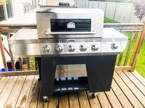 Cuisinart 3-in-1 Stainless Gas Grill Review assembly