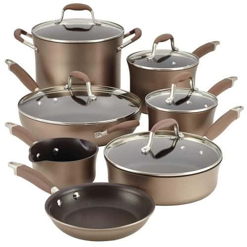 Anolon Advanced Bronze Hard-Anodized Nonstick Cookware Set Review