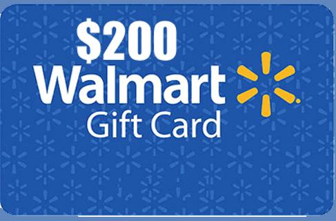 $200 Walmart Gift Card Giveaway