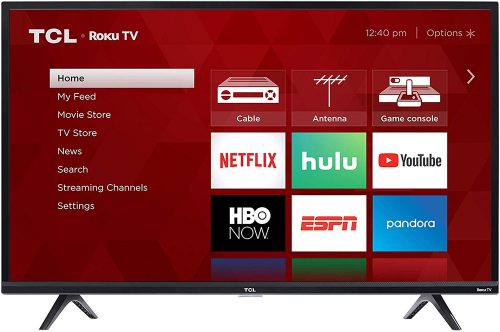 TCL 40″ Smart LED Roku TV Giveaway