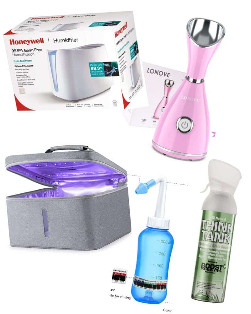 Relieve symptoms of the flu with these items