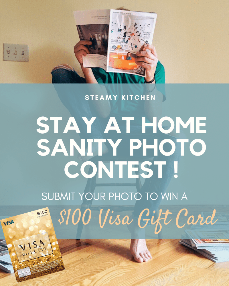 Stay At Home Sanity Photo Contest!