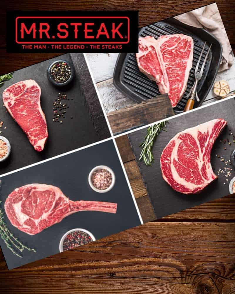 Mr.Steak Review and Giveaway