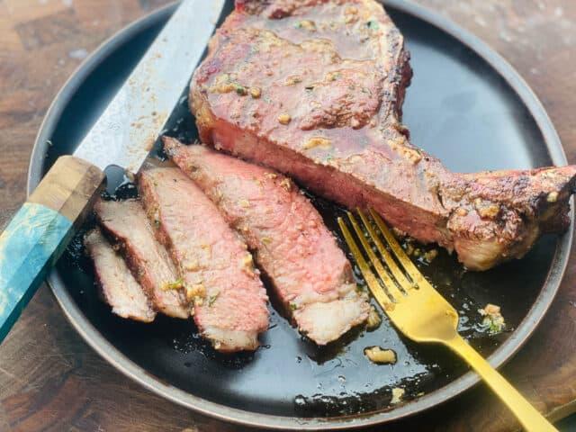 mr steak review - kansas city strip