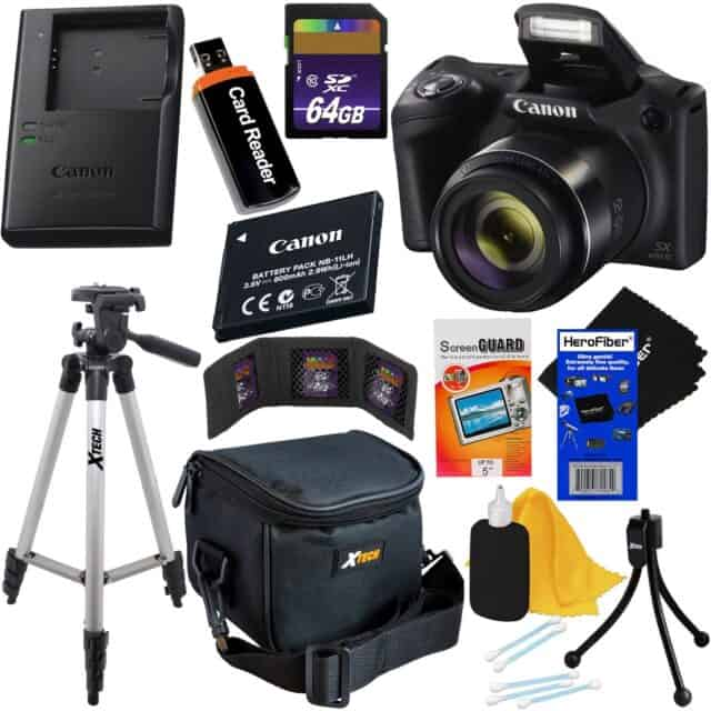 Canon Powershot SX420 Digital Camera Deluxe Accessory Kit Giveaway