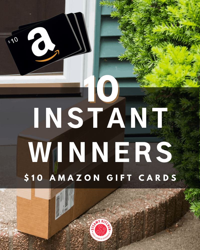 Amazon $10 Gift Card Instant Win Game