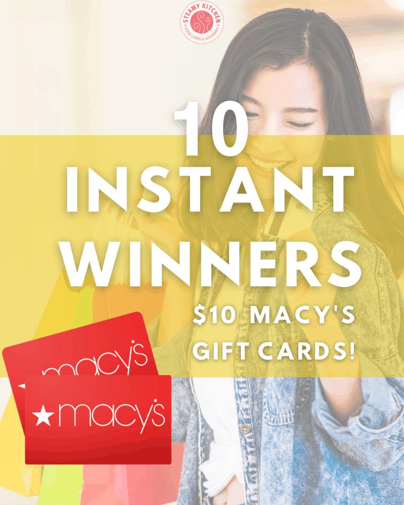 Macy's Instant Win Game