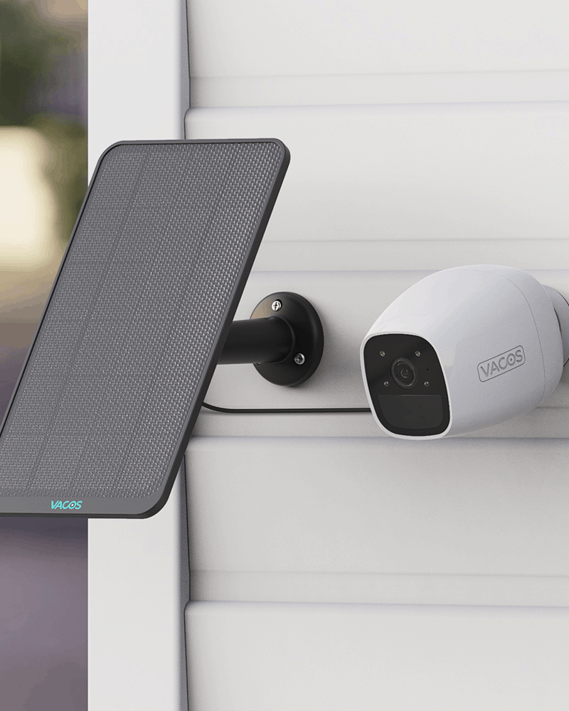 Vacos Security Camera + Solar Panel Giveaway