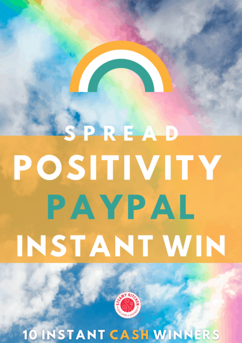 Positivity PayPal Cash Instant Win