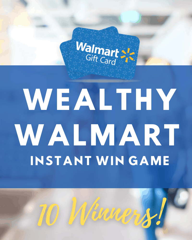 Wealthy Walmart Instant Win Game