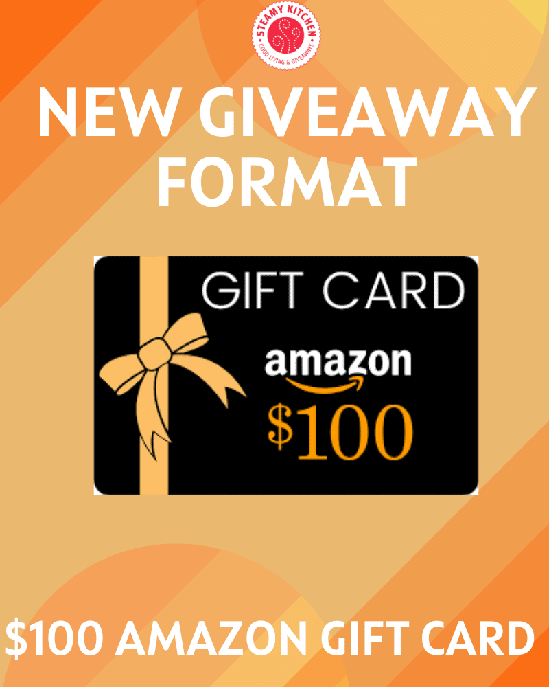 $100 Amazon Gift Card Giveaway – NEW FORMAT