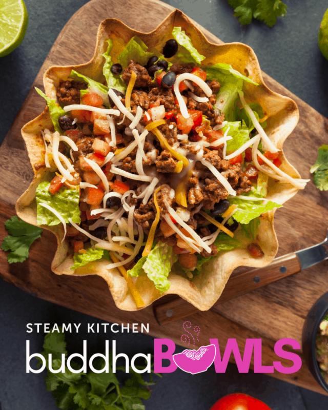 Taco Buddha Bowl with Creamy Chipotle Sauce