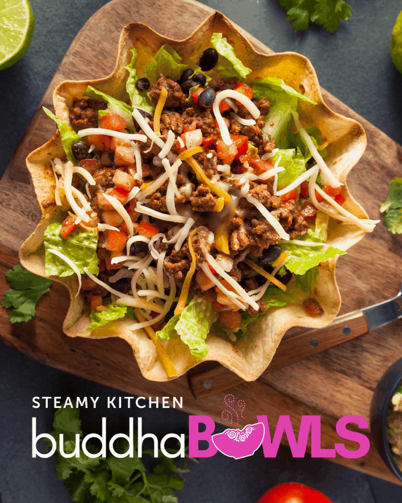 Taco Buddha Bowl with Creamy Chipotle Sauce