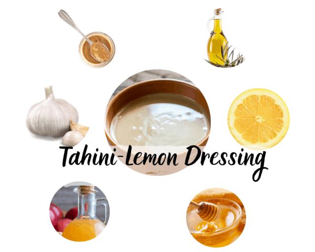 Tahini dressing for Buddha bowl