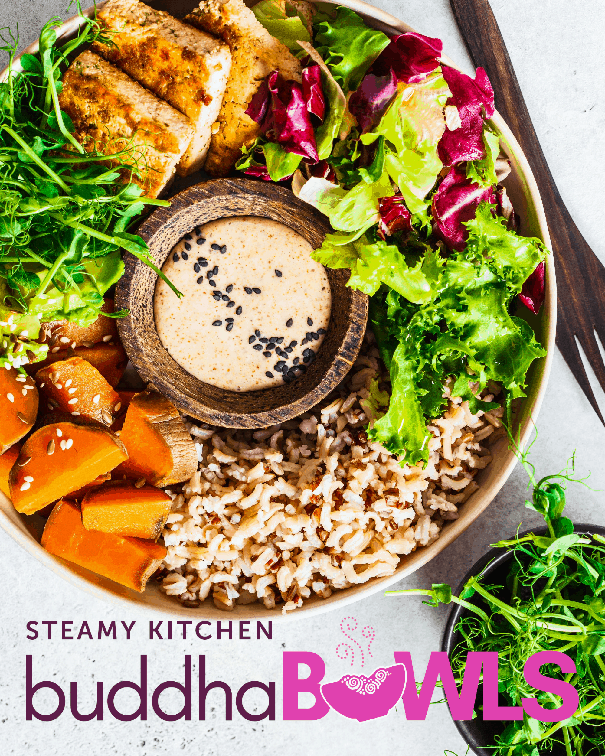 Rainbow Buddha Bowl Recipe with Tahini-Lemon Dressing