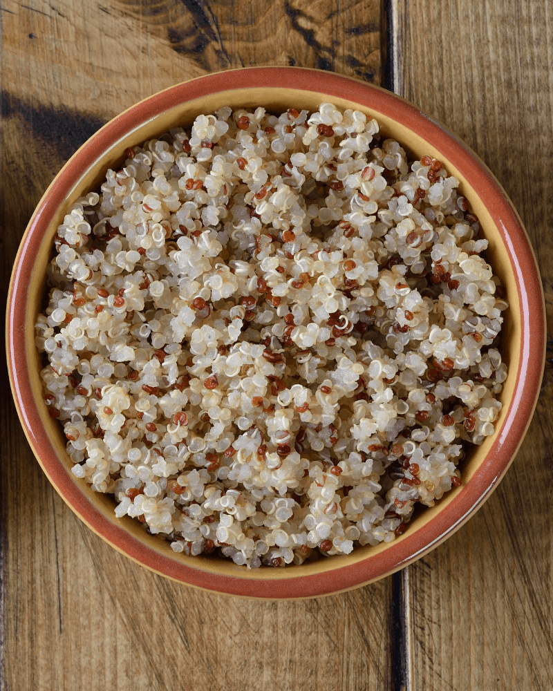 Quinoa in the Microwave