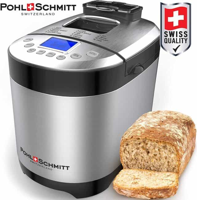 Pohl Schmitt Stainless Steel Bread Machine Giveaway