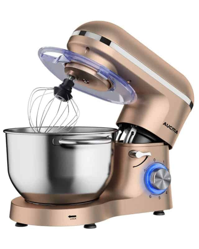 Aucma 6-Speed Kitchen Electric Mixer Giveaway
