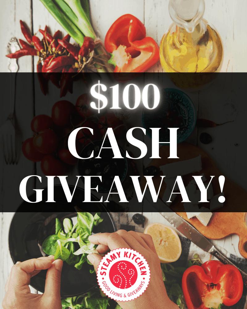 $100 Cash Prize Giveaway