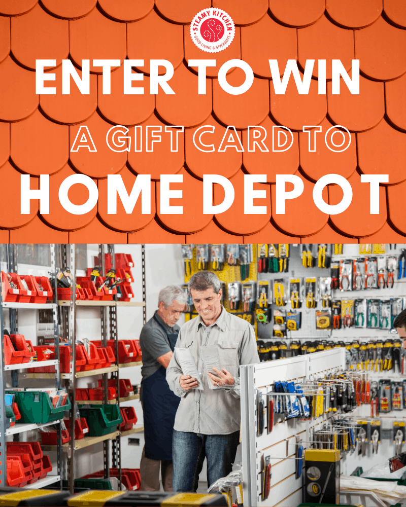 Home Depot $100 Gift Card