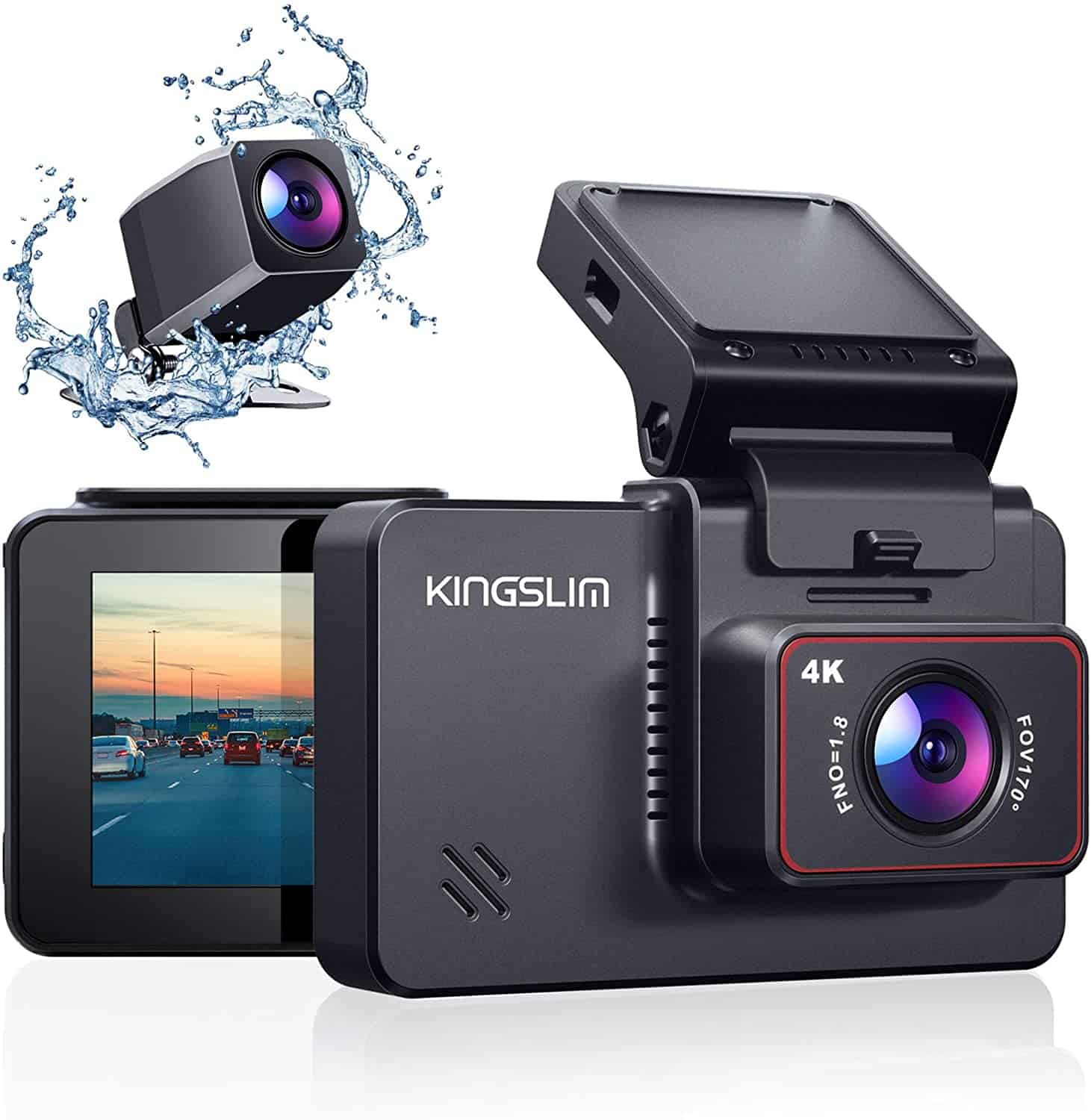 4K Dual Dash and Backup Vehicle Camera Giveaway