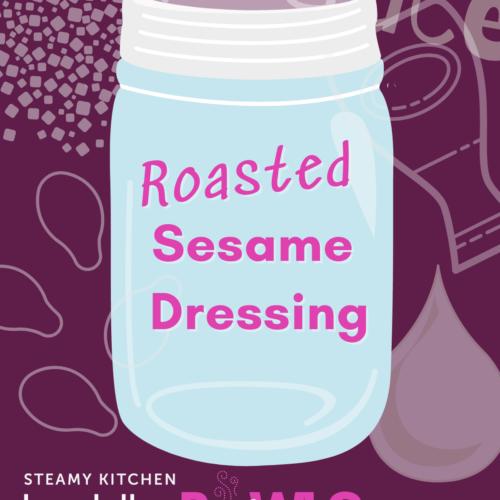 roasted sesame dressing recipe title