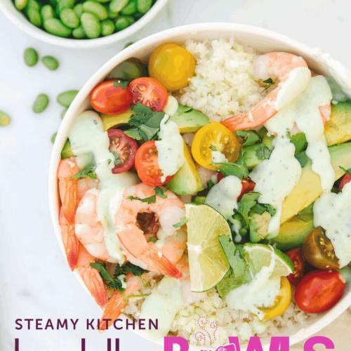 Shrimp and Avocado Buddha Bowl