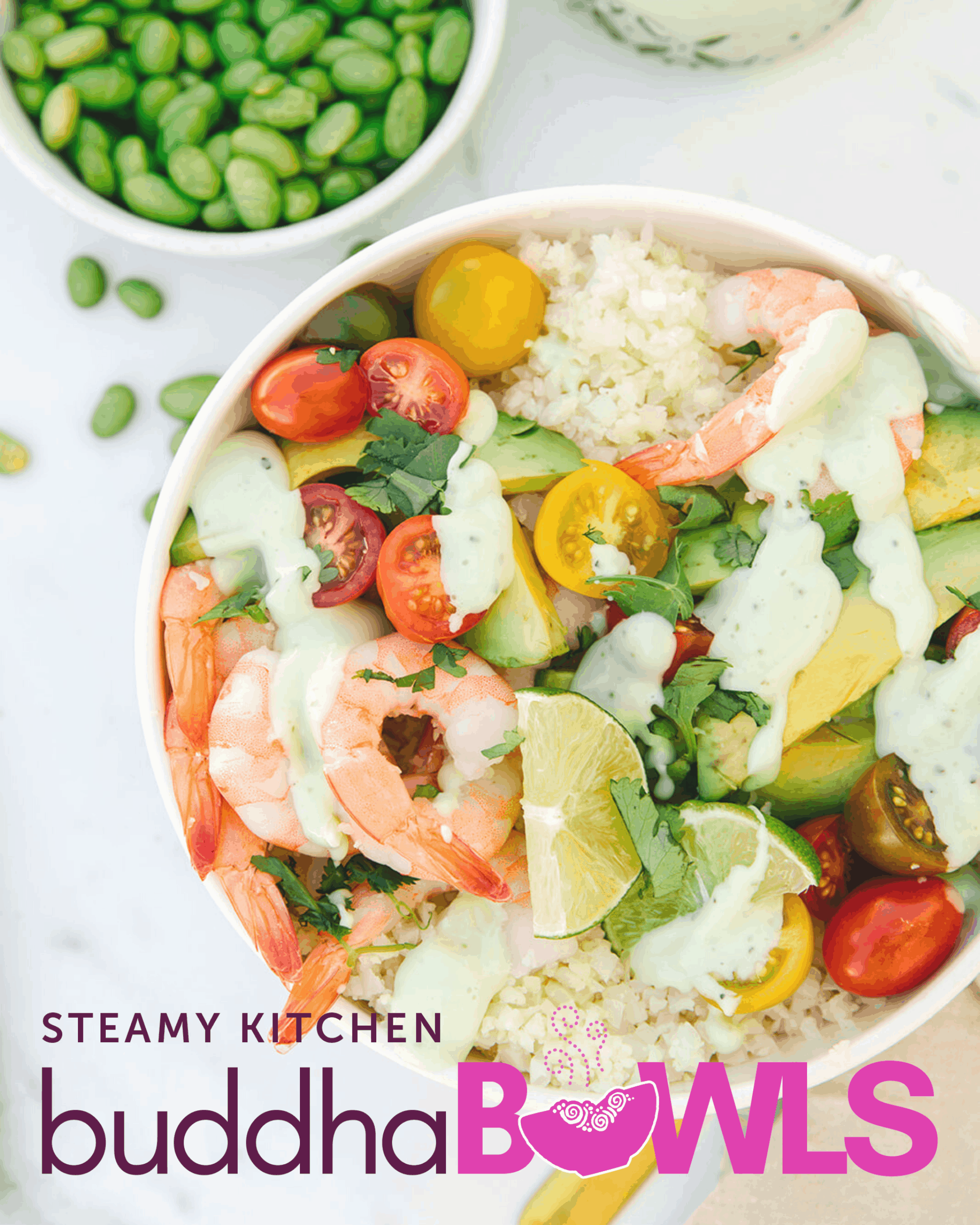 Shrimp and Avocado Buddha Bowl