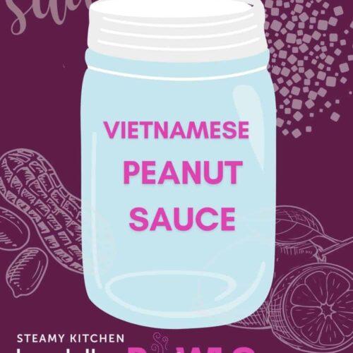 Vietnamese peanut dipping sauce recipe