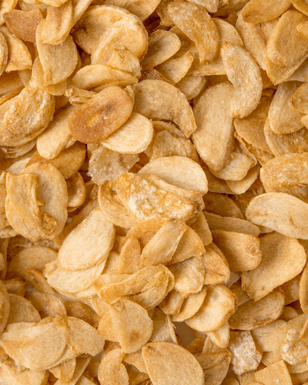 fried garlic chips image
