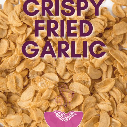crispy fried garlic buddha bowl recipe