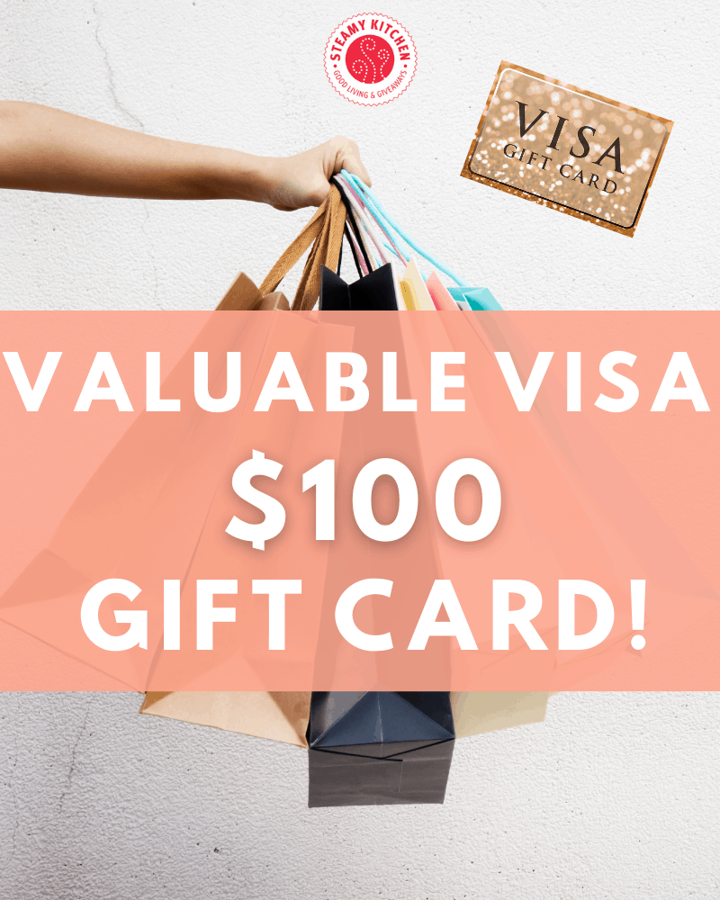 Valuable Visa $100 Gift Card Giveaway