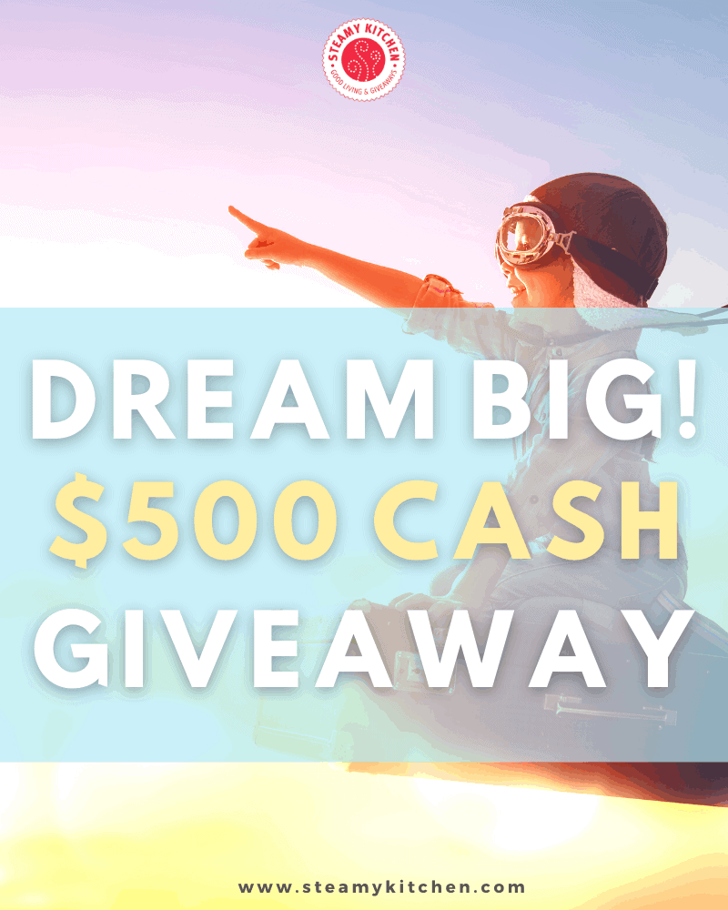Dream Big $500 Giveaway 2.0Ends in 10 days.