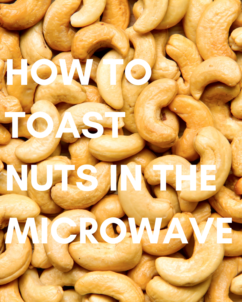 How to Toast Nuts in the Microwave