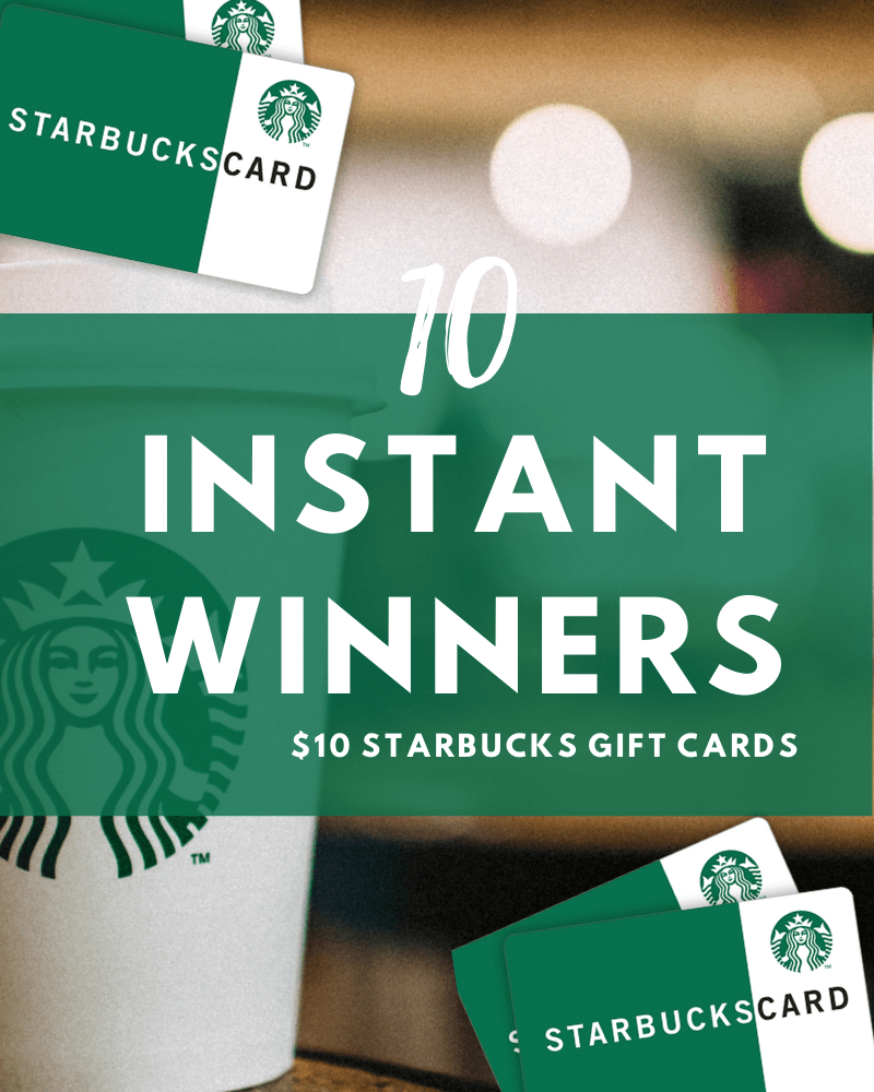 Starbucks Instant Win