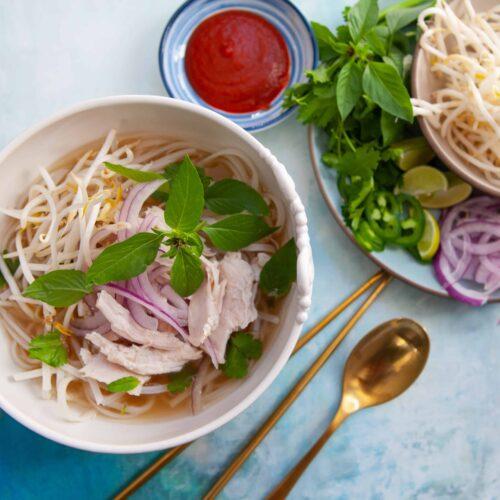 Vietnamese Turkey Pho