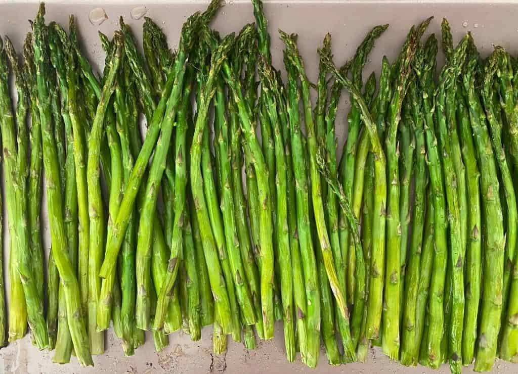 fastest way to oven roast asparagus spears