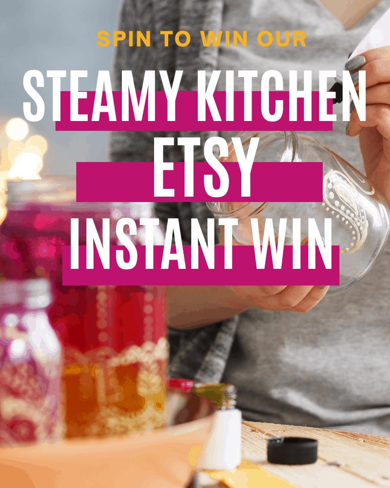 Steamy Kitchen Etsy Giveaway