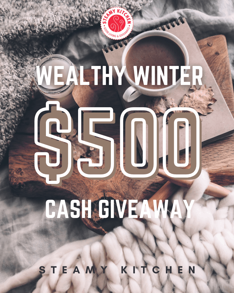 Wealthy Winter $500 Cash GiveawayEnds in 14 days.