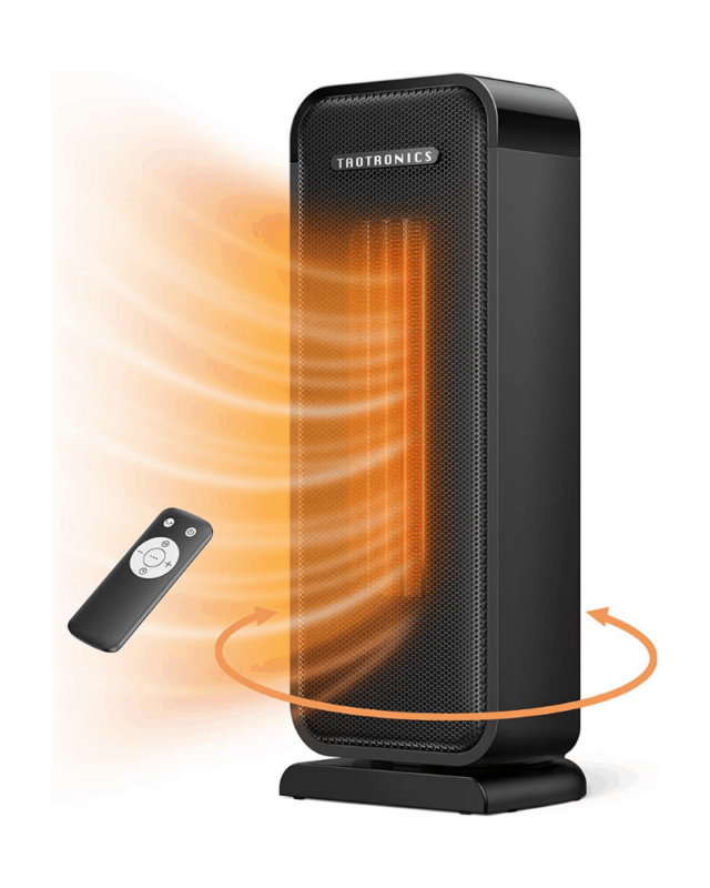 TaoTronics Space Heater Review and Giveaway