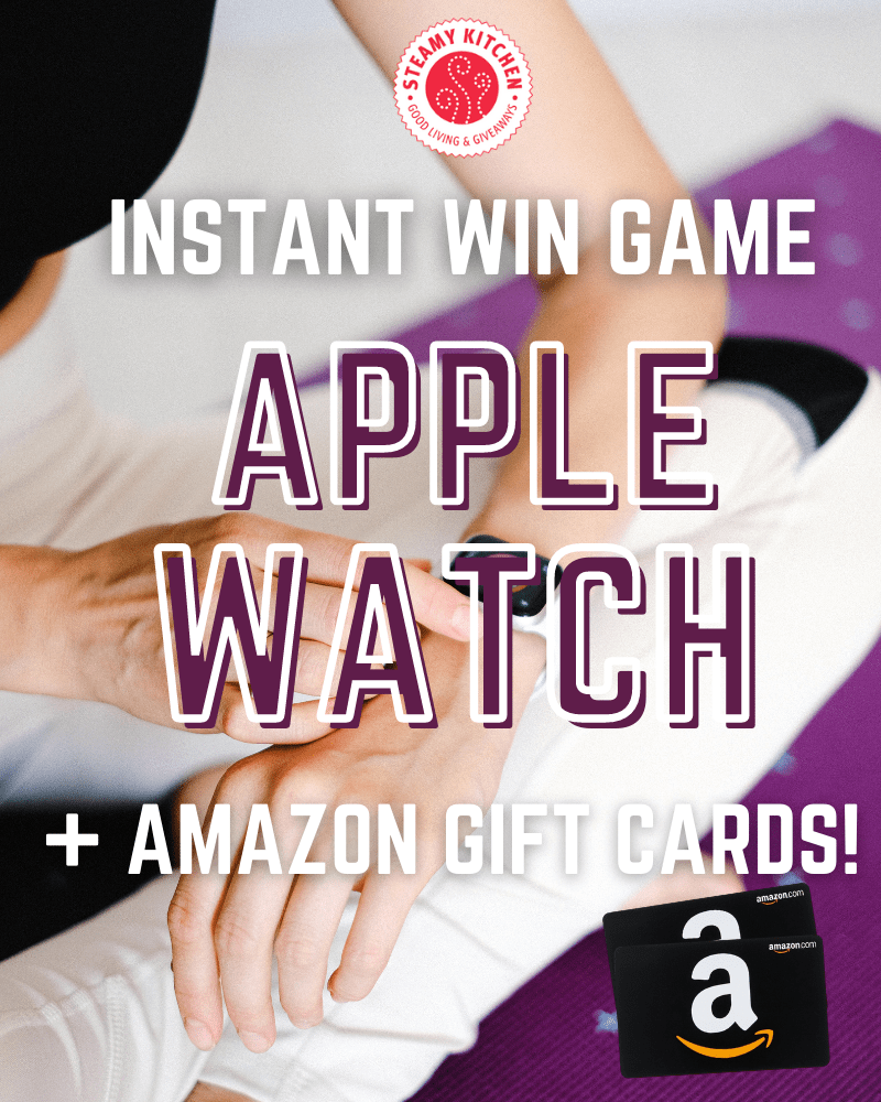 Apple Watch Instant Win GameEnds in 25 days.