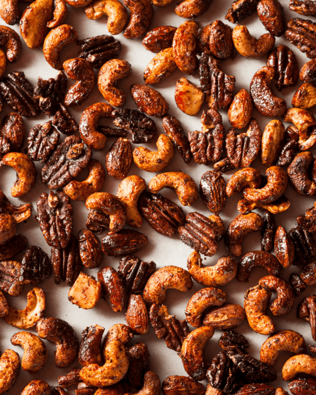 Easy Spiced Nuts