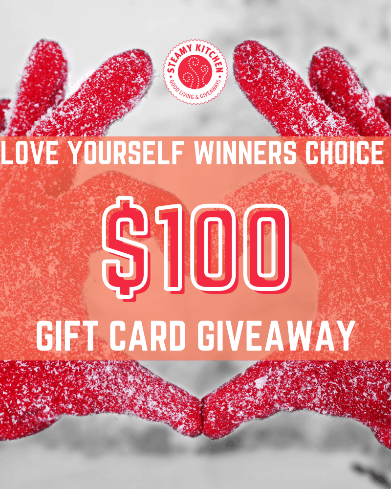 $100 Love Yourself Winners Choice Gift Card GiveawayEnds in 21 days.