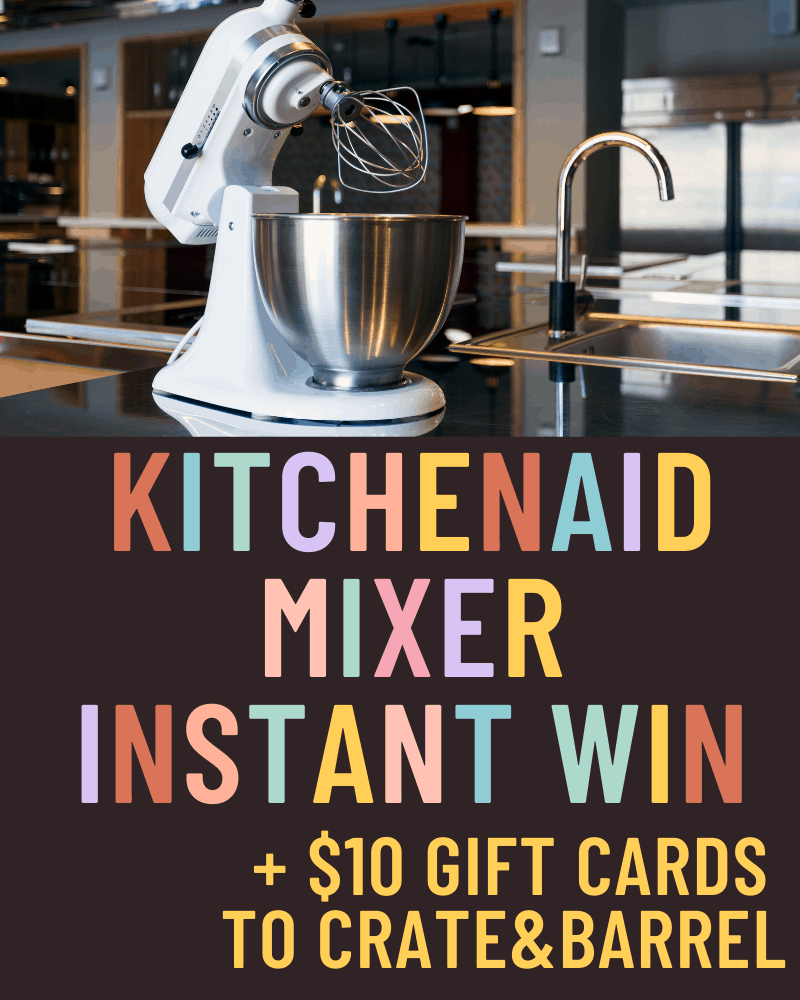 KitchenAid Instant Win GameEnds in 18 days.