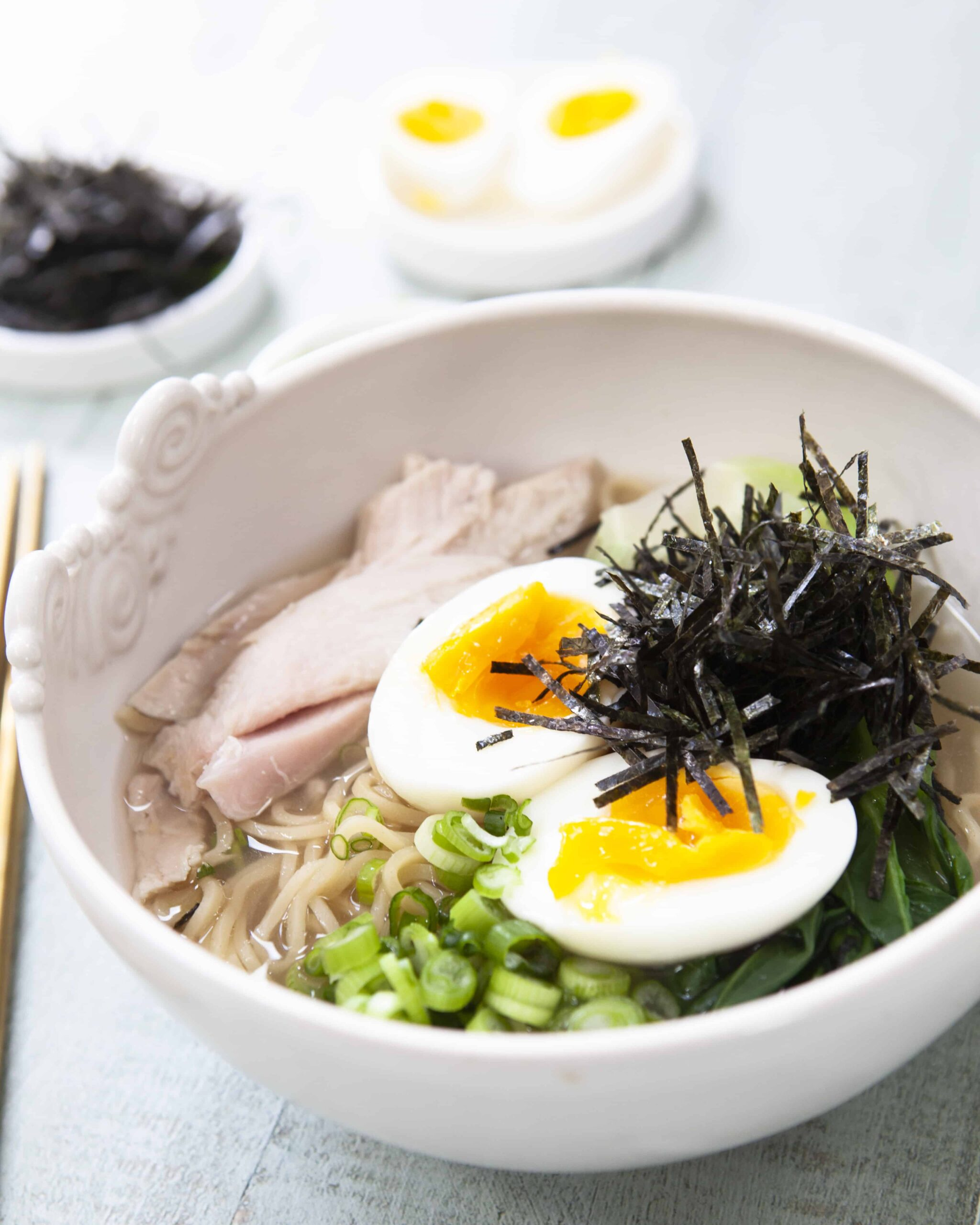 Leftover Turkey Miso Ramen Recipe